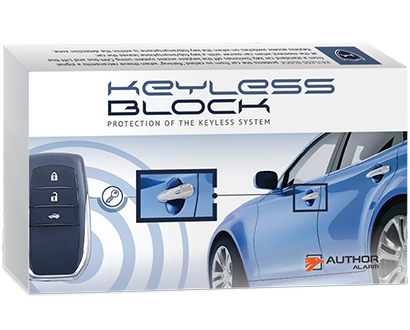Author Alarm Keyless Entry Protection I 2 Key Fobs I Smartphone Control - Lockdown Security