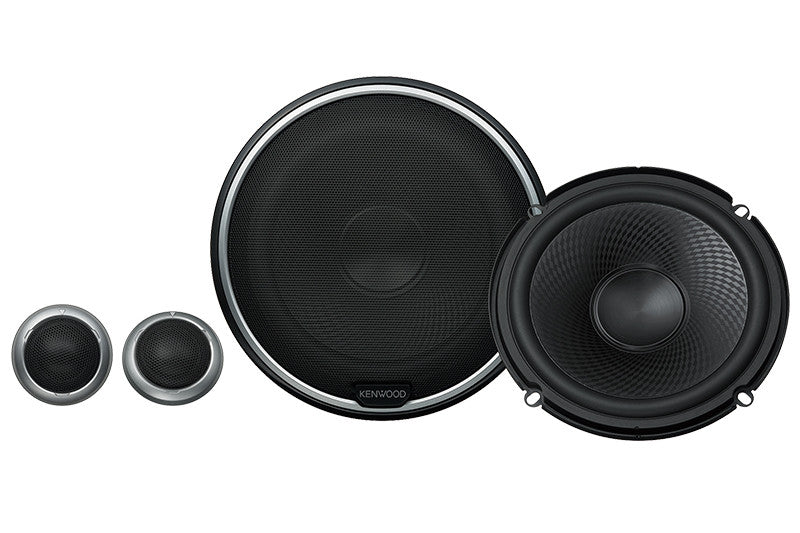 "Kenwood KFC-P710PS 6.5"" Component Speakers - Lockdown Security"