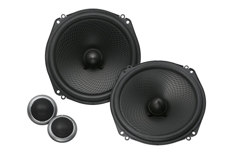 "Kenwood Excelon KFC-XP184C 7"" Oversized Component Speakers - Lockdown Security"
