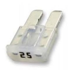 MICRO2-25 | 25 Amp Micro2-ATR Fuses | 10 Pack - Lockdown Security