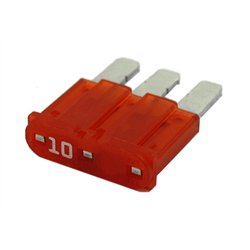 MICRO3-10 | 10 Amp Micro3-ATL Fuses | 10 Pack - Lockdown Security