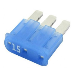 MICRO3-15 | 15 Amp Micro3-ATL Fuses | 10 Pack - Lockdown Security