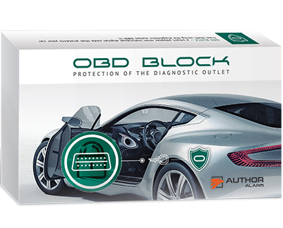 Author Alarm OBD-II Socket Blocking System - Lockdown Security