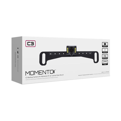 Momento C3 License Plate Mount Camera | MR-C300 | Backup Camera - Lockdown Security