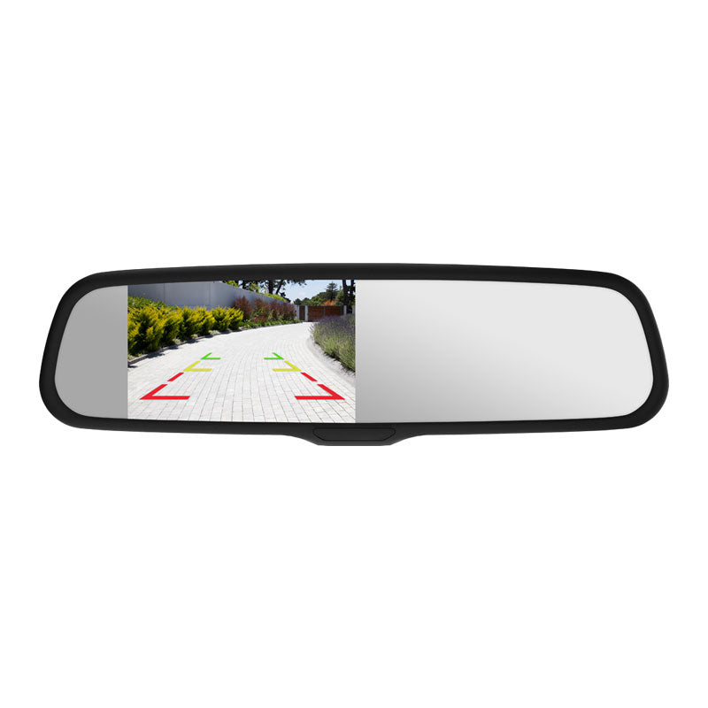 "Momento R1 4.3"" LCD Smart Mirror - Lockdown Security"