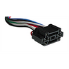 "RH-202 Double Relay Harness (12"" - 8 Wire)"