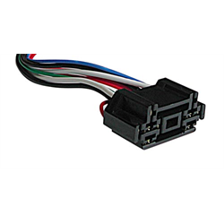 "RH-202 Double Relay Harness (12"" - 8 Wire) - Lockdown Security"