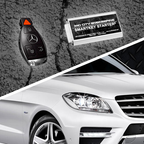 Mid City Engineering SKSNG166D4 Mercedes Benz Remote Starter - Lockdown Security