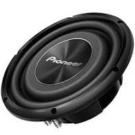 "Pioneer TS-A2500LS4 10"" Single 4 Ohm Voice-Coil Shallow-Mount Subwoofer - Lockdown Security"