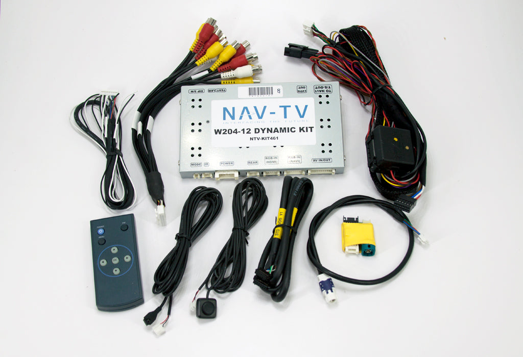 NAV-TV NTV-KIT461 | W204-12 DYNAMIC | Mercedes Video & Back Up Camera Interface Kit | DISCONTINUED - Lockdown Security