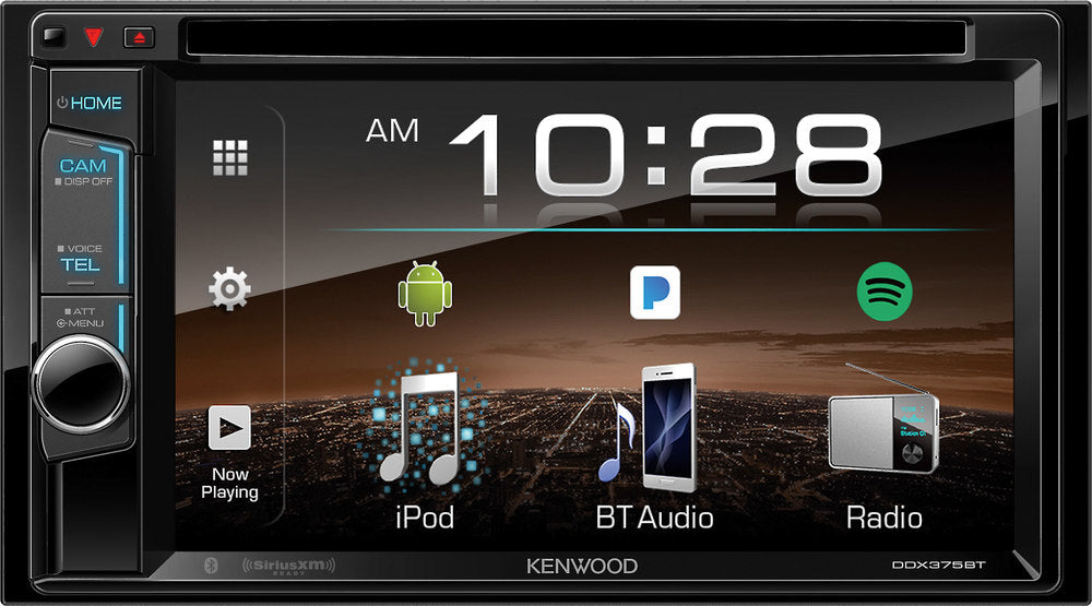 Kenwood DDX376BT Multimedia Receiver - Lockdown Security