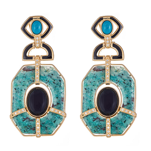 Cristina Sabatini Statement Earrings