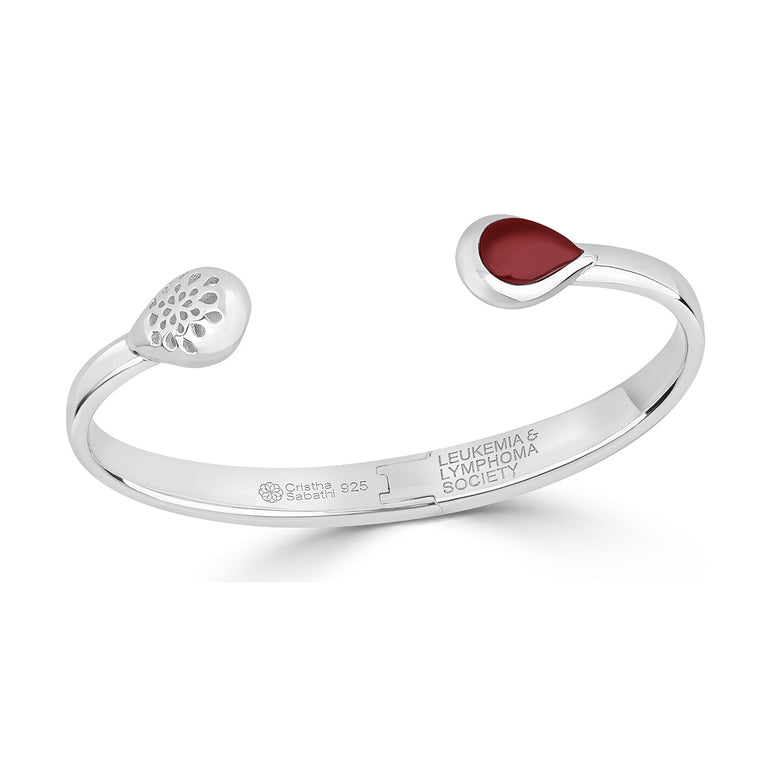 Cristina Sabatini Charity Cuff for LLS