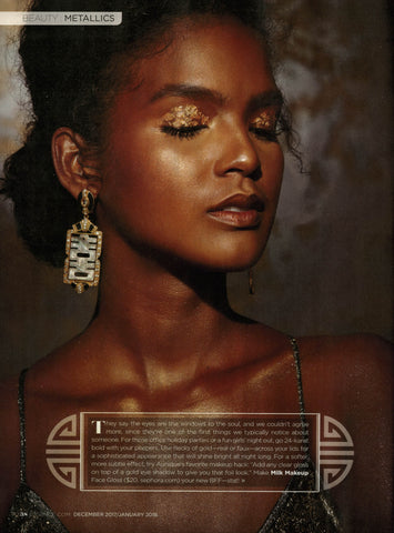 Cristina Sabatini Statement Earring in Essence Magazine
