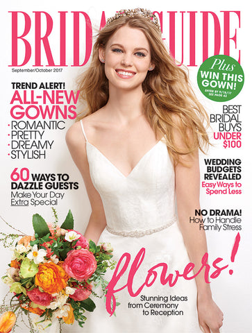 Bridal Guide Magazine Sept/Oct Issue Cover
