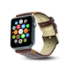 Cristina Sabatini: 2 Stitch Apple Watch Band in Chocolate