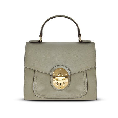 Cristina Sabatini: Vivienne Satchel in Heather Gray