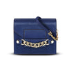 Small Scarlett Crossbody Handbag - Military Blue by Cristina Sabatini