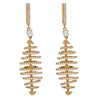 Beehives Earrings - Gold Plated