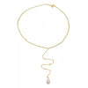 Cristina Sabatini: Dew Drop Necklace - 18K Gold Plated