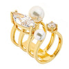 Jewelry - Women's Rings - 18K Gold Plated - Orion Ring by Cristina Sabatini