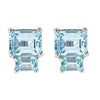 Lyra Earrings - Blue Topaz