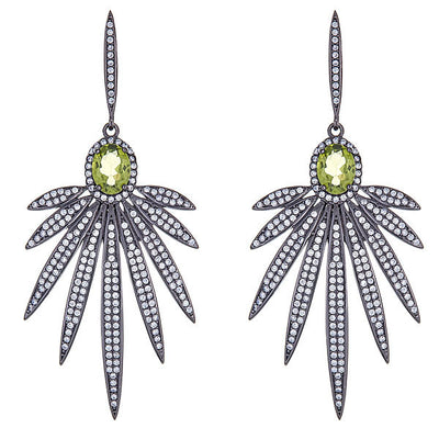 Cristina Sabatini: Apus Earrings - Peridot