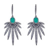 Cristina Sabatini: Apus Earrings - Emerald