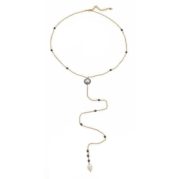 Cristina Sabatini: Margarite Necklace 18K Gold Plated