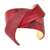 Cristina Sabatini: Twisted Leather Cuff