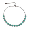 Altair Silver Necklace - Emerald Gemstone