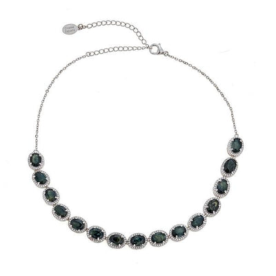 Altair Necklace - Black Rhodium Silver