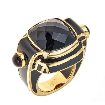 Nubia Ring - 18K Gold Plated