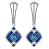 Omorose Earrings - Blue