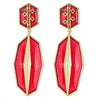 Cristina Sabatini: Serenata Earrings - Burgundy