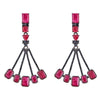 Cristina Sabatini: Sagittarius Earrings - Ruby