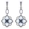 CS Peonia Earrings - White by Cristina Sabatini