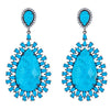 Draco Earrings - Turquoise