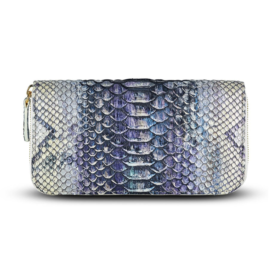 a41bcf0fd2db Accessories- Women s Wallets - Camilla Wallet - Iridescent Neutral Hue  Python Snakeskin Leather by Cristina