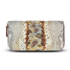 Accessories- Women's Wallets - Camilla Wallet -Opalescent Purple-Blue Snakeskin Python Leather Cristina Sabatini