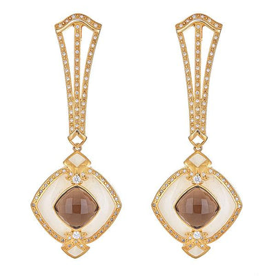 Omorose Earrings - 18K Gold Plated
