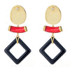 Cristina Sabatini: Aten Earrings - Onyx Gemstone