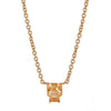 Lyra Necklace - Citrine - Gold Plated