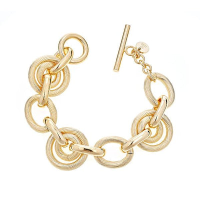 Chain Bracelet by Cristina Sabatini - 18K Gold Plated