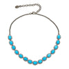Altair Silver Necklace - Turquoise Gemstone