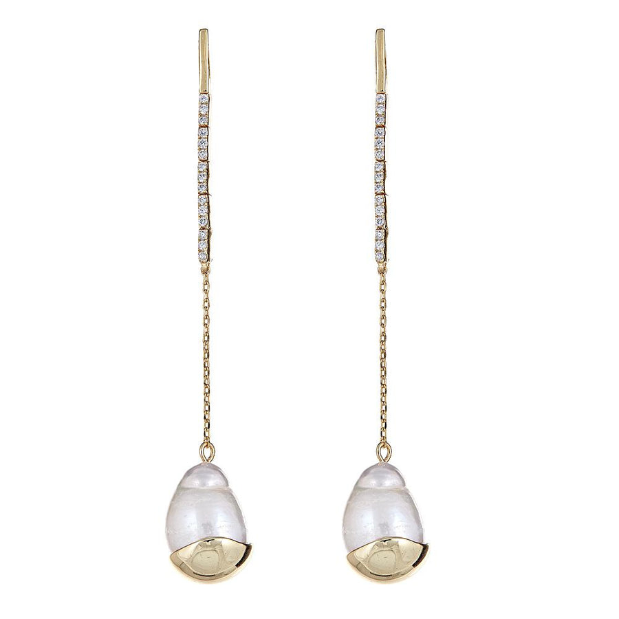 Opaline Earrings - Gold Plated