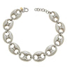 Cristina Sabatini Chain Jewelry - Antique Silver Gear Link Necklace
