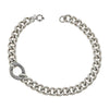 Cristina Sabatini Chain Jewelry - Antique Silver Libero Chain Necklace
