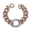 Cristina Sabatini Chain Jewelry - Antique Bronze Libero Chain Bracelet