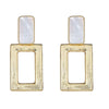 Square Knocker Earring